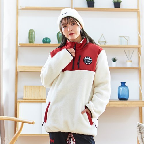 FLEECE ANORAK JACKET